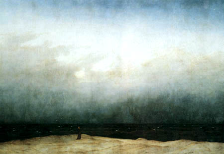 Monje frente al mar – Caspar Friedrich