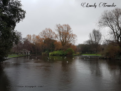 St Stephen's Green Park in Dublin