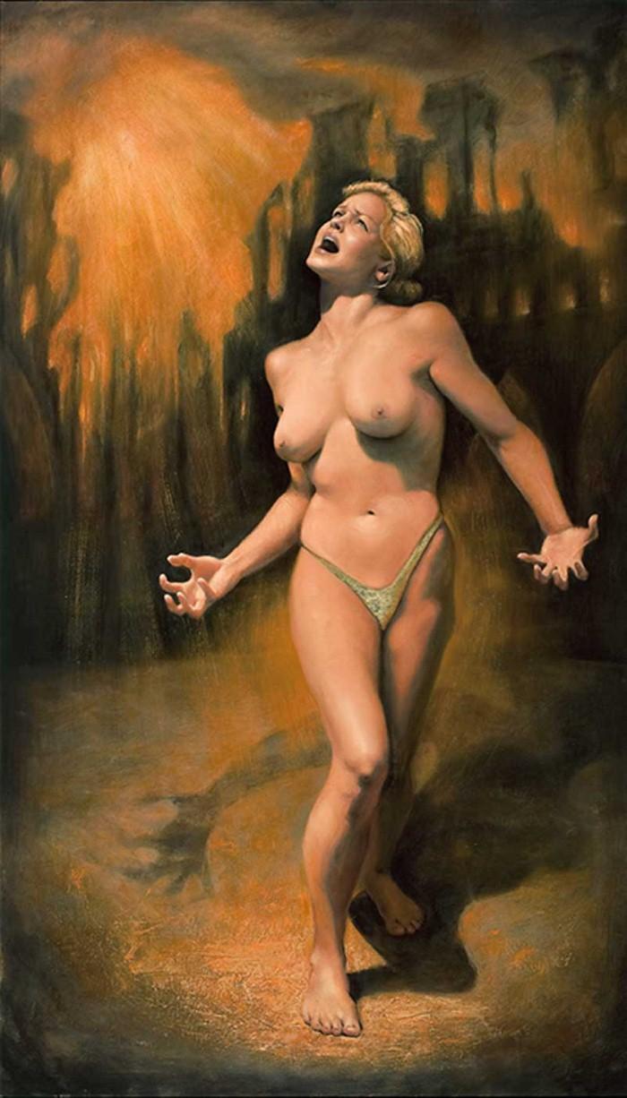 Современный художники Америки. Alexander Rokoff 15