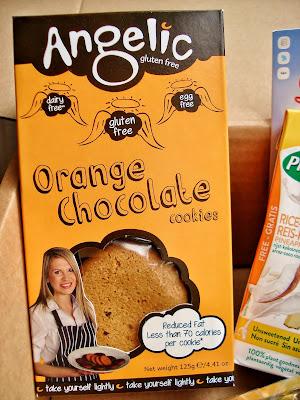 Angelic orange chocolate cookies