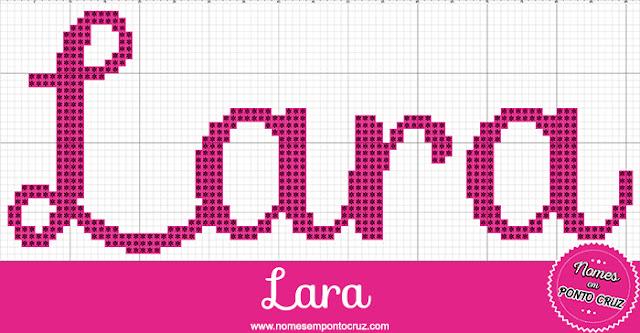 Nome Lara em Ponto Cruz