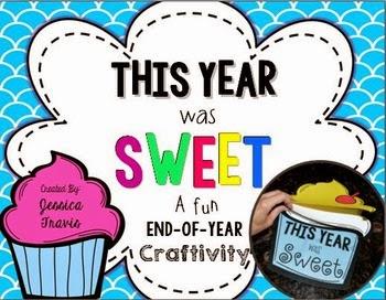 http://www.teacherspayteachers.com/Product/Freebie-This-Year-was-SWEET-A-fun-End-of-Year-Craftivity-1248309