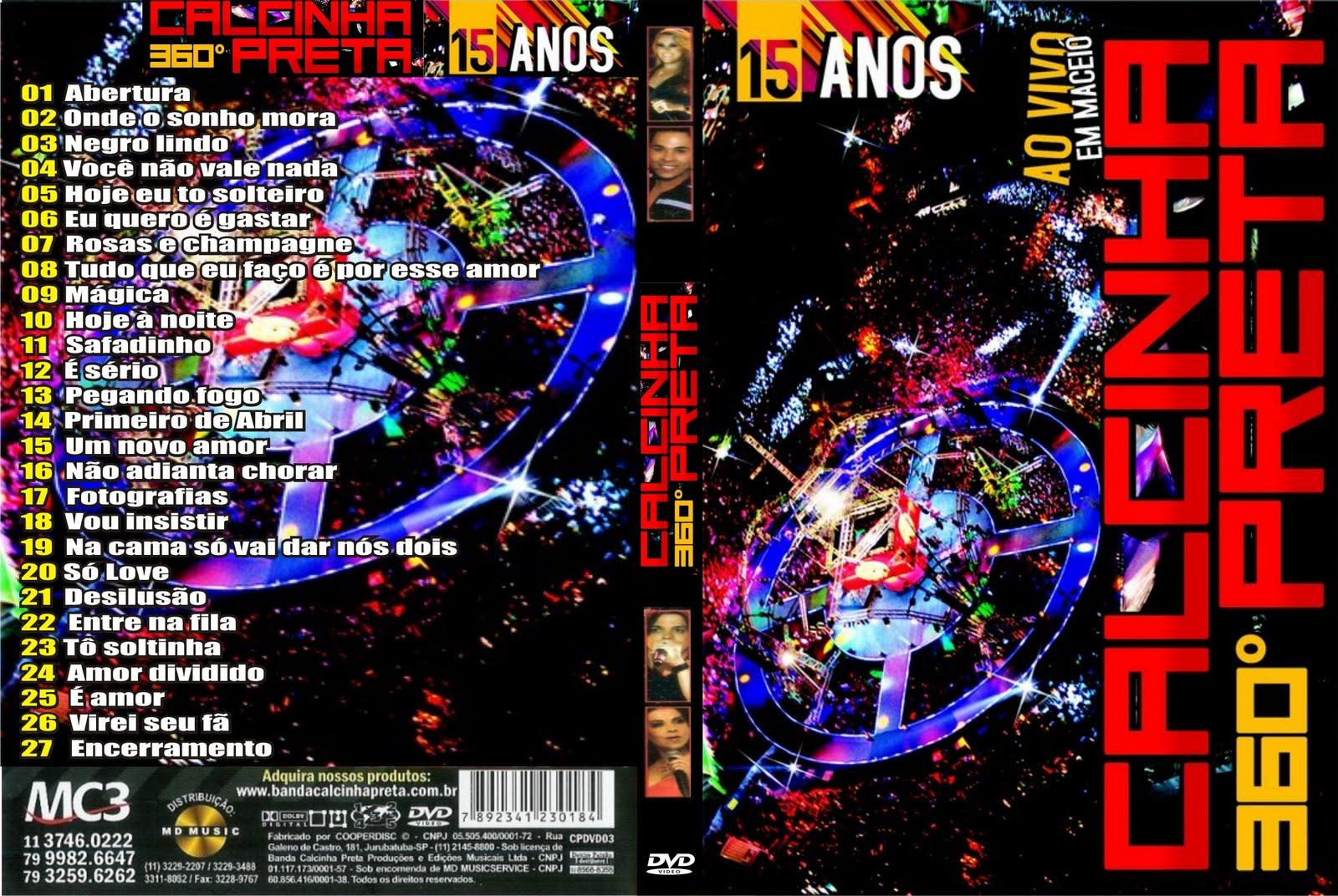 Calcinha preta dvd 1 forró sua música.