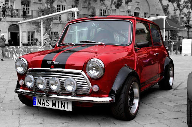 Mini 1950s British classic car