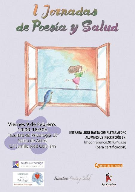 I Jornadas de Poesía y Salud. Universidad de Sevilla. 2018
