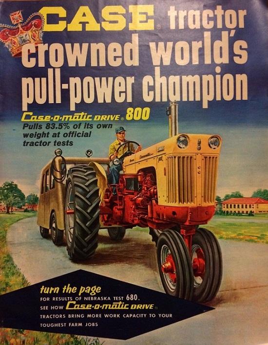 Tractores En 143 Taller El 22 Case 800 Diesel 1958
