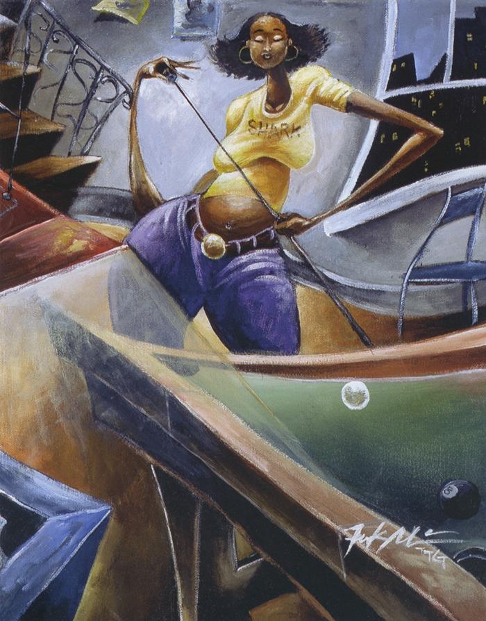 Frank Morrison | African American painter | The Urban Jazz