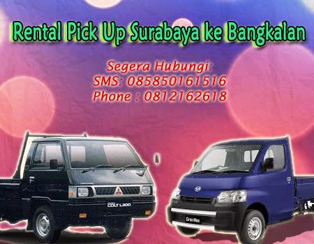 Rental Pick Up Surabaya ke Bangkalan
