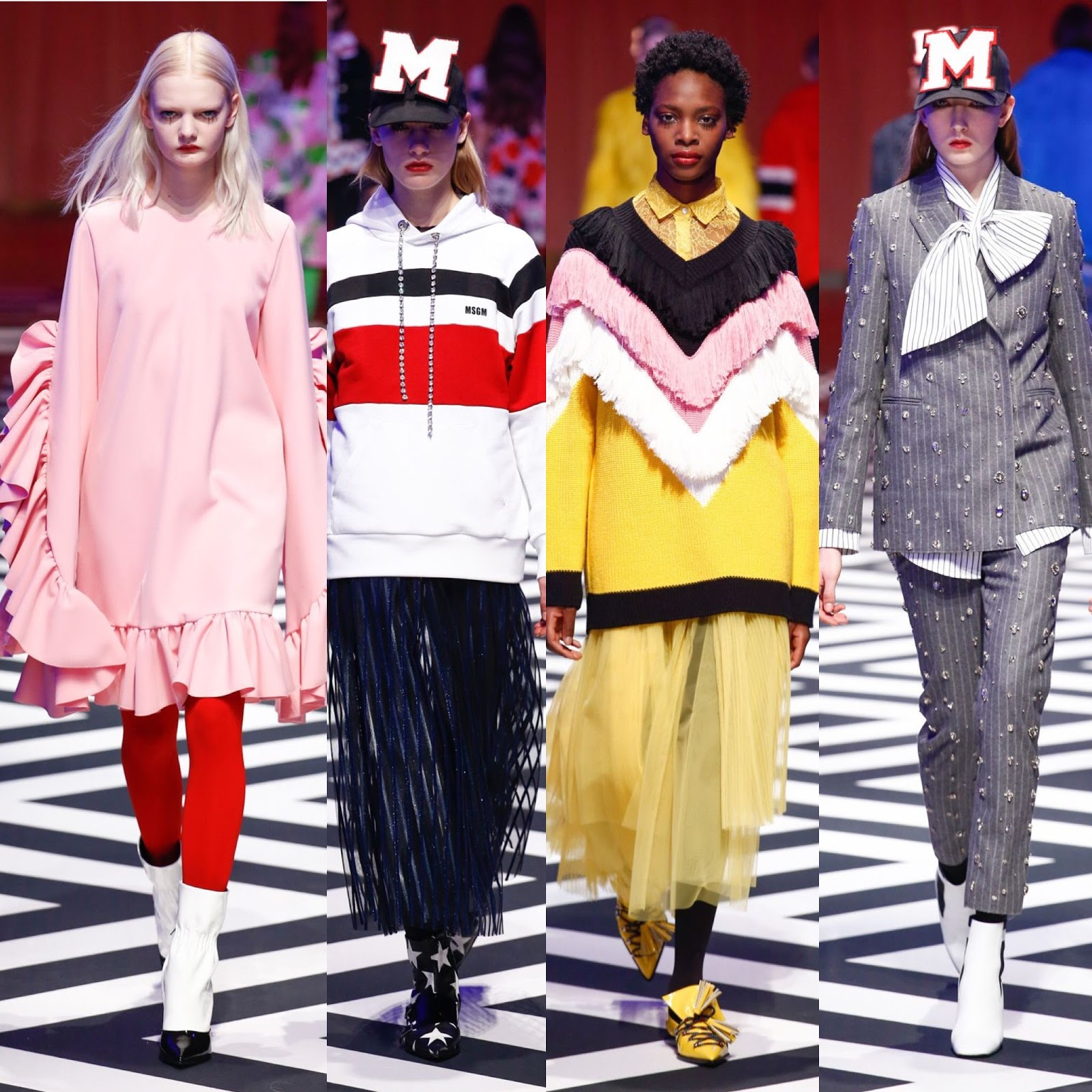 milan fashion week, cameramoda, milan fashion, milan fashion week aw 17, milan fashion week aw 17 review, mfw show review, mfw aw 17, au jour le jour review, au jour le jour aw17, msgm review, msgm aw 17.