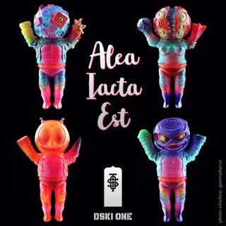 Alea Iacta Est Vinyl Figures by Cop A Squat Toys x DSKI ONE