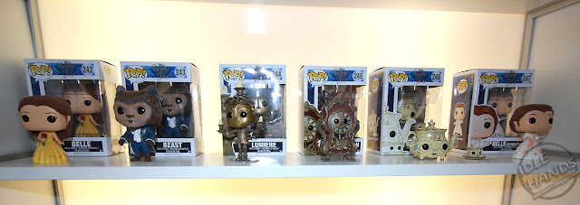 Toy Fair 2017: Funko's Beauty and the Beast Movie Pops