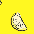 lemon slices pattern