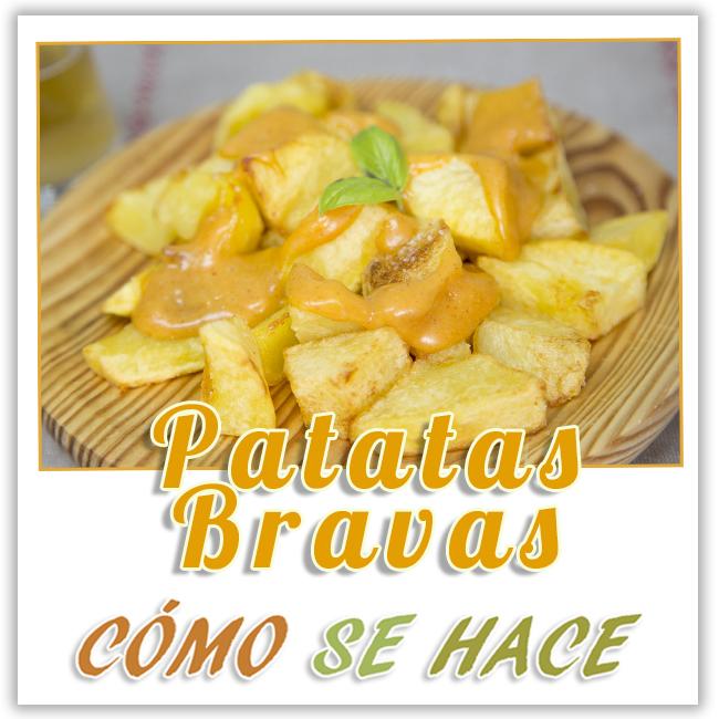 patatas bravas y salsa brava