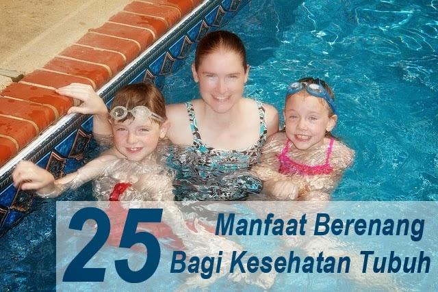 Berbagai manfaat dan kesenangan berenang
