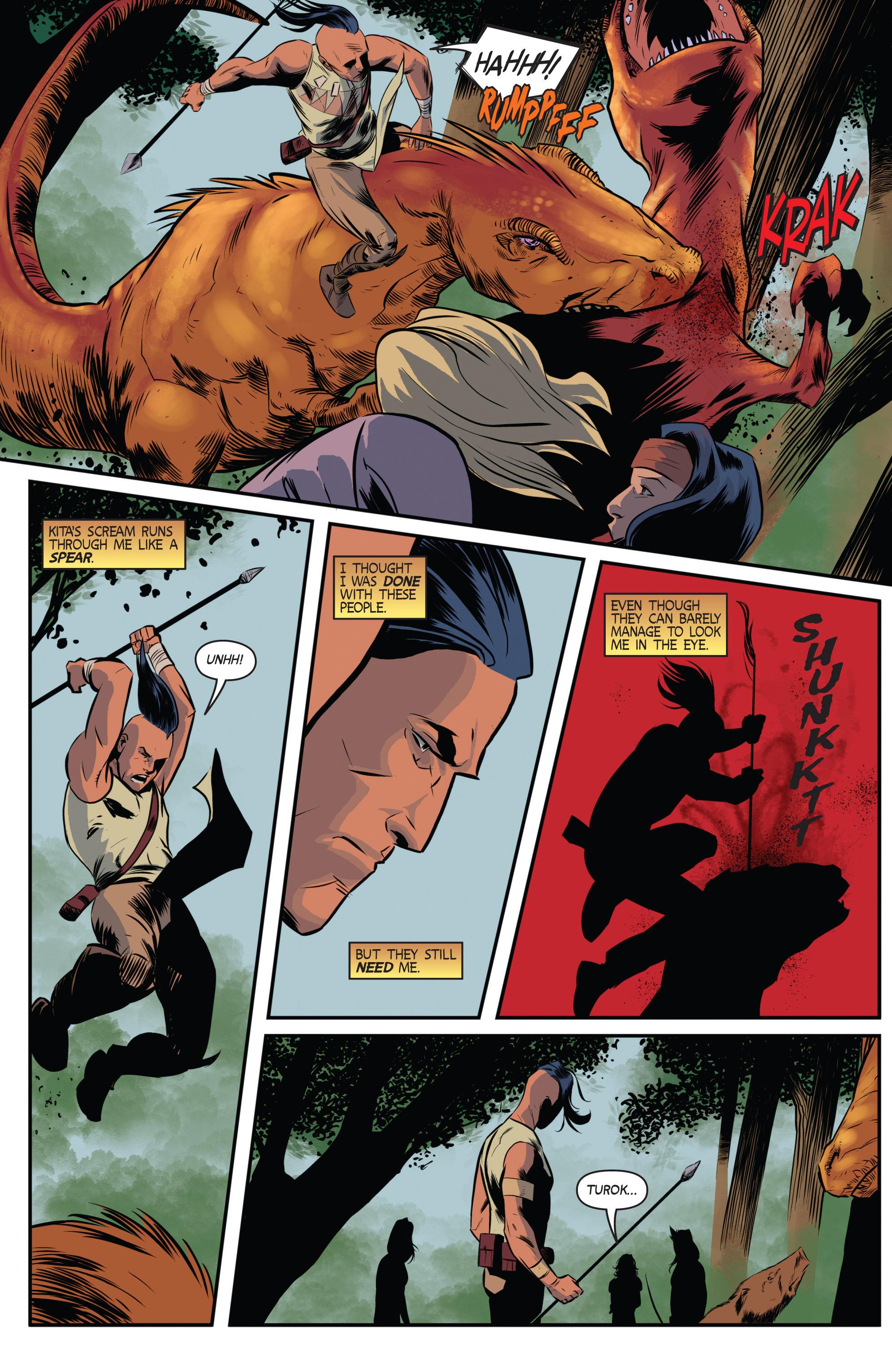Read online Turok: Dinosaur Hunter (2014) comic -  Issue # _TPB 3 - 8