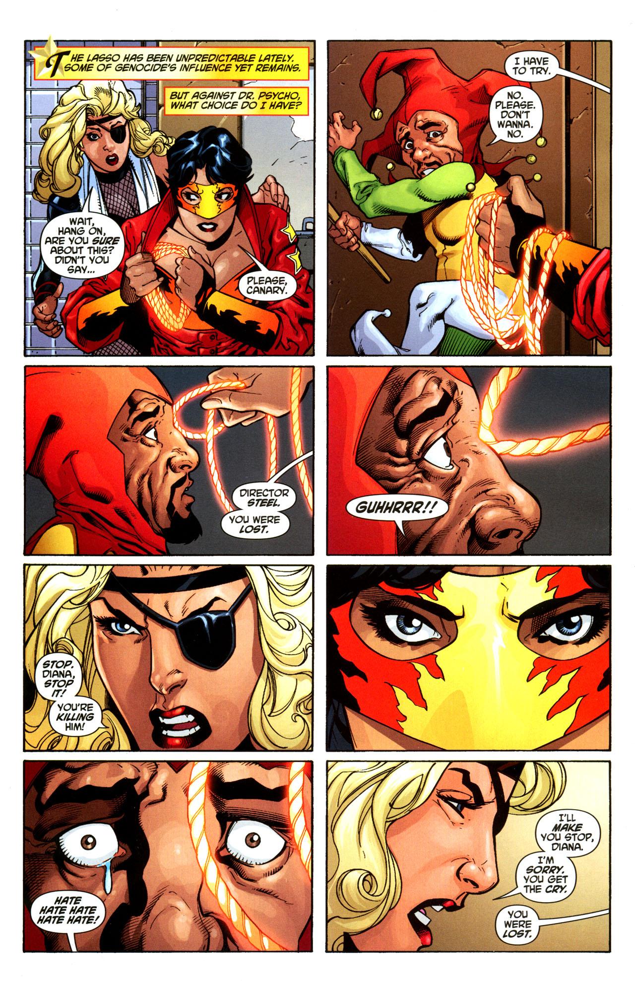 Read online Wonder Woman (2006) comic -  Issue #35 - 9