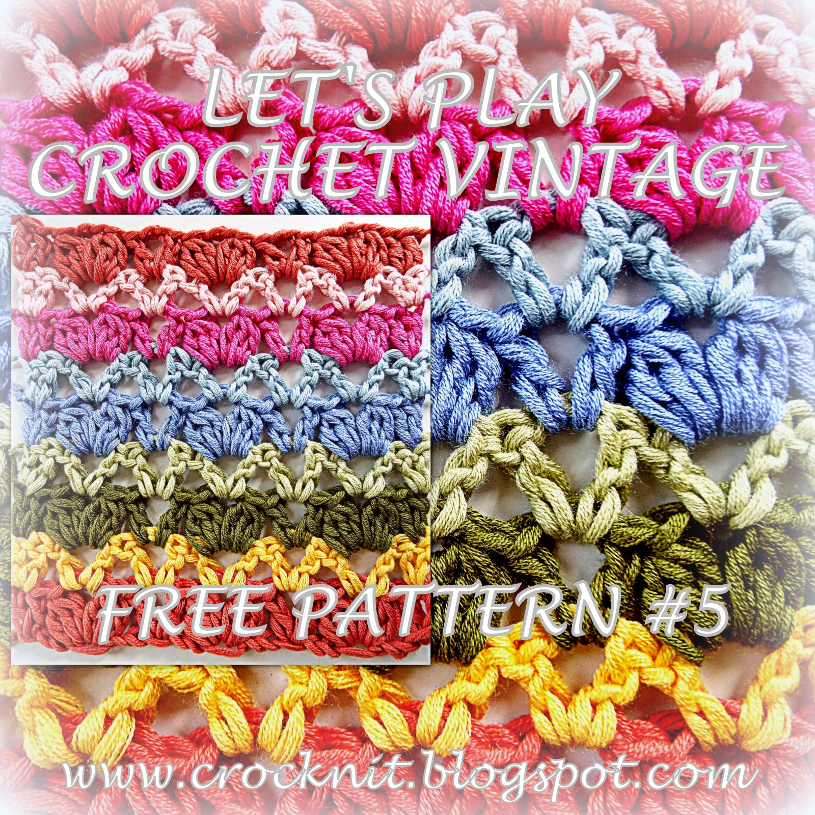 Microcknit Creations Lets Play Crochet Vintage Free Pattern 5