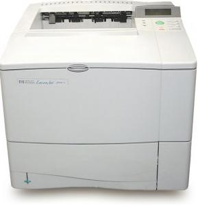 Hp laserjet 4000 series pcl
