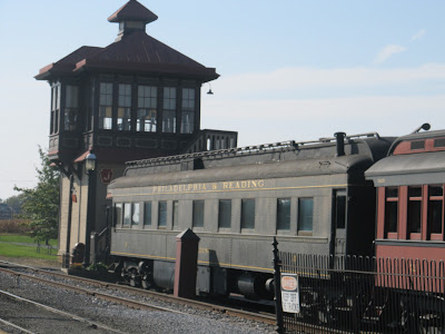 Signal Tower at Strasburg Railroad