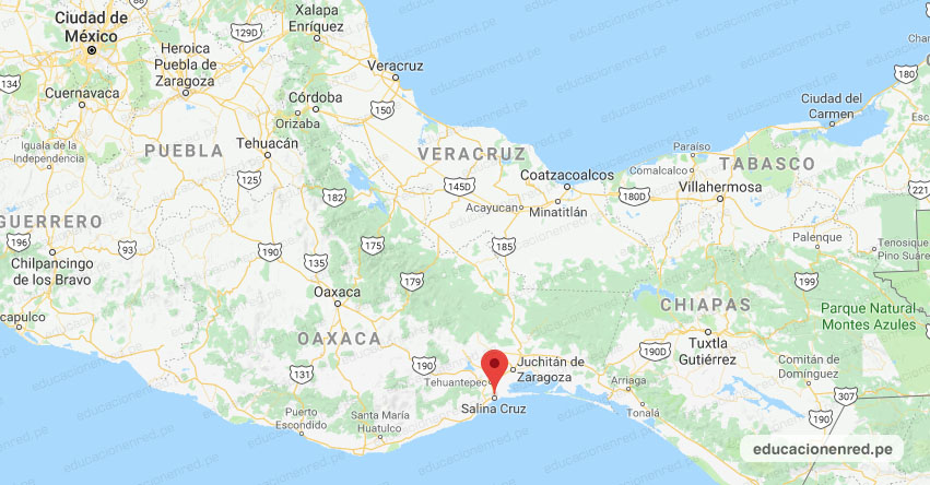 Temblor en México de Magnitud 4.1 (Hoy Jueves 10 Octubre 2019) Sismo - Epicentro - Salina Cruz - Oaxaca - OAX. - SSN - www.ssn.unam.mx