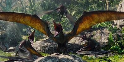 Pteranodon en Jurassic World El reino caido