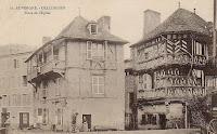 Le marché à Olliergues, Puy-de-Dôme.