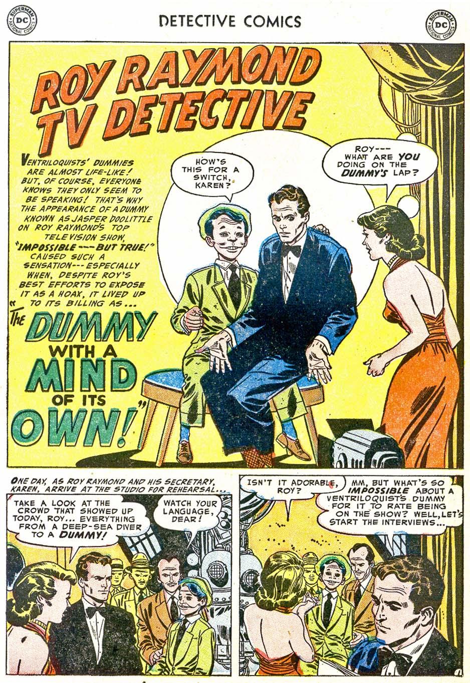 Detective Comics (1937) 202 Page 16