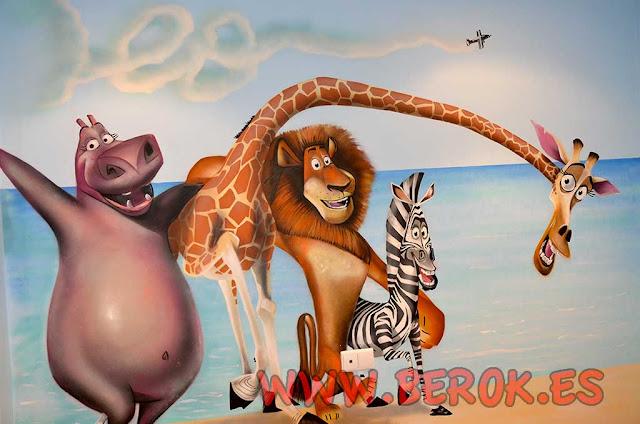 murales infantiles Madagascar