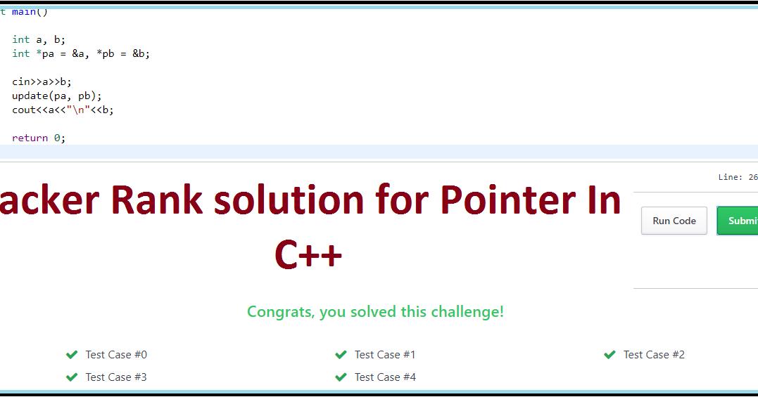 hackerrank 30 days of code solutions ft