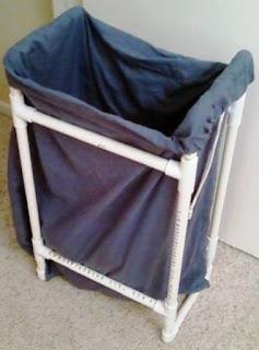 Cara Membuat Keranjang Pakain Laundry dari Pipa PVC