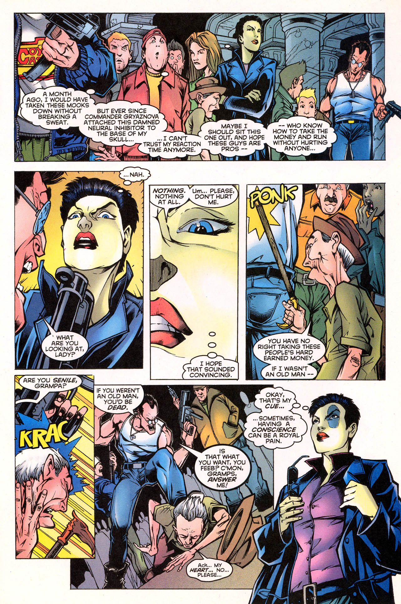 Read online X-Force (1991) comic -  Issue #72 - 17