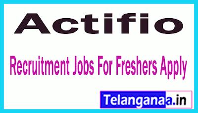 Actifio Recruitment Jobs For Freshers Apply