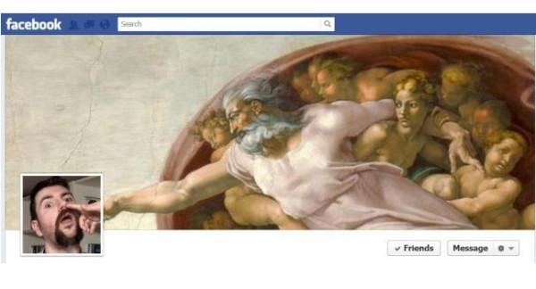 Funny Creation of Nostrils Michelangelo Sistene Chapel