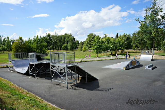 skatepark chateauroux belle isle