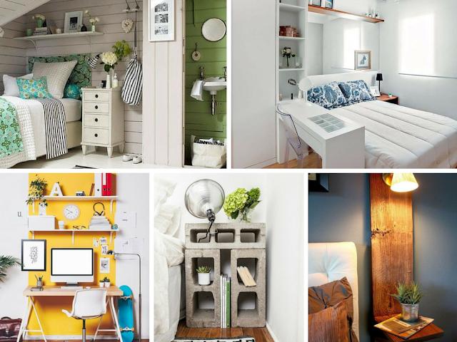 Ideias para quartos pequenos