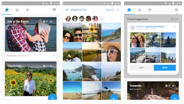 شرح تطبيق Moments لتنظيم الصور بشكل ذكي وإنشاء البومات ومشاركتها