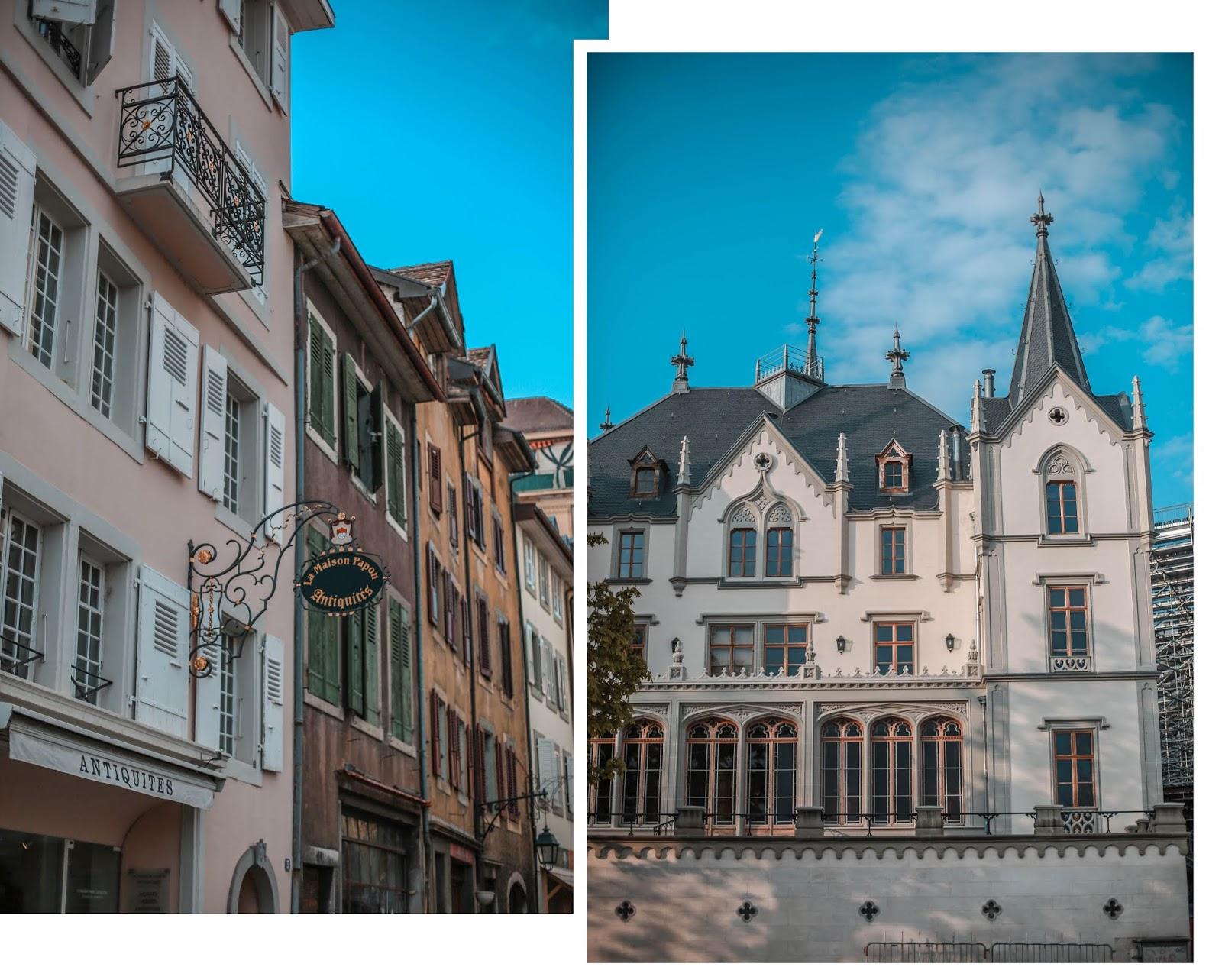 Suisse Montreux voyage blog