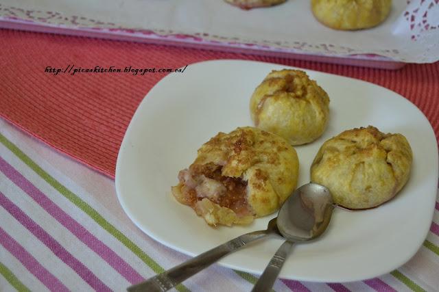 Higos rellenos de queso y envueltos en hojaldre