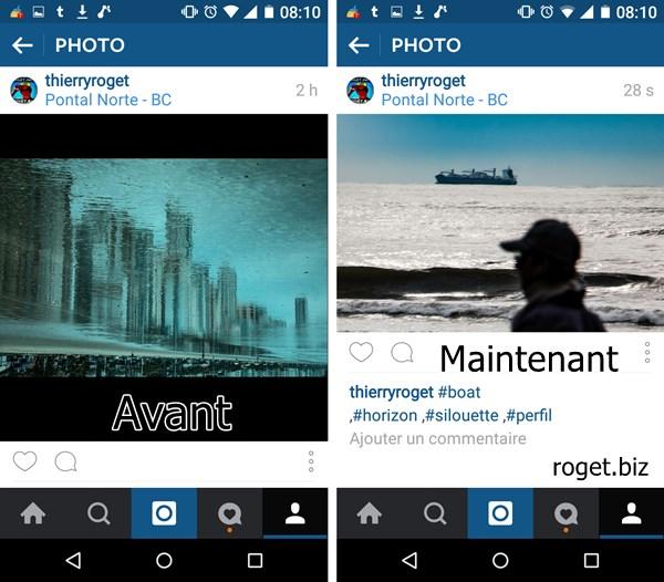 instagram permet d u0026 39 envoyer des photos en format portrait ou paysage