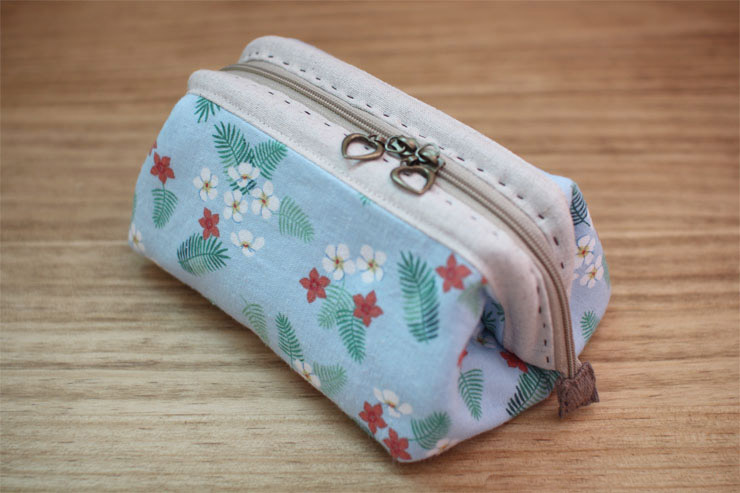 Cosmetic Bag Tutorial, Bags Tute, Cosmetics Bags Tutorials, Diy Makeup Bags Tutorials