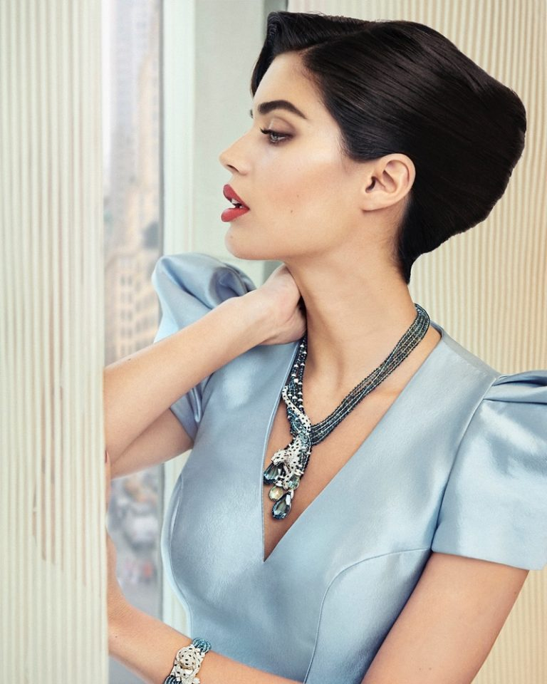 Sara Sampaio Poses in Cartier Gems for Sorbet Magazine
