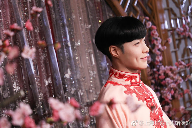 Lay Zhang Er Yue Hong Wax figure Mystic Nine