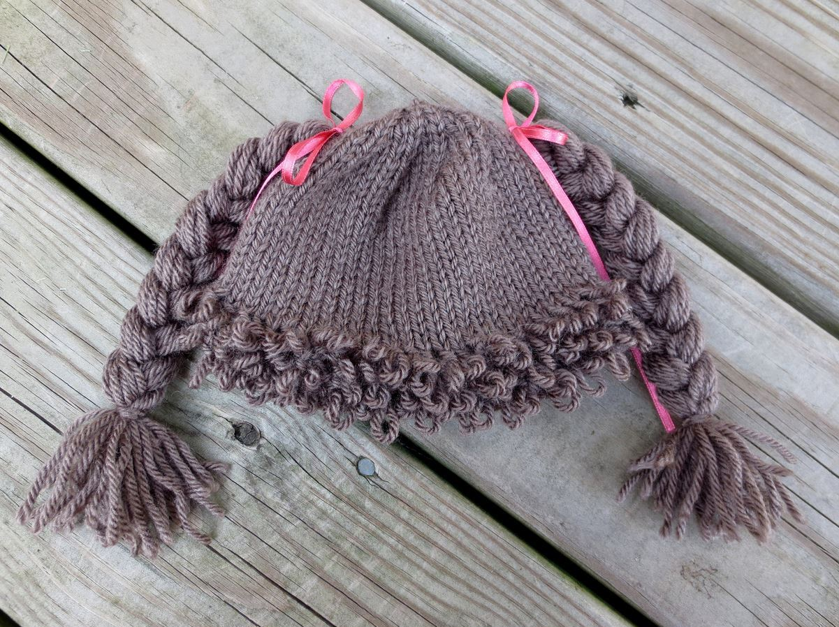 How To Make A Cabbage Patch Kid Inspired Hat Handy Diy