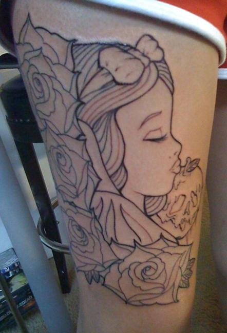 Filmic Light  Snow White Archive Snow White Tattoos
