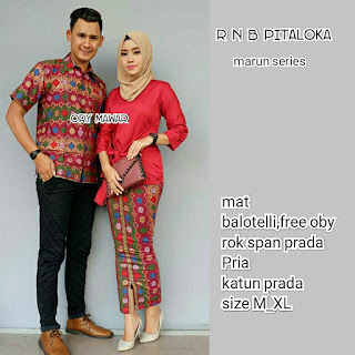 Batik Couple RnB Pitaloka