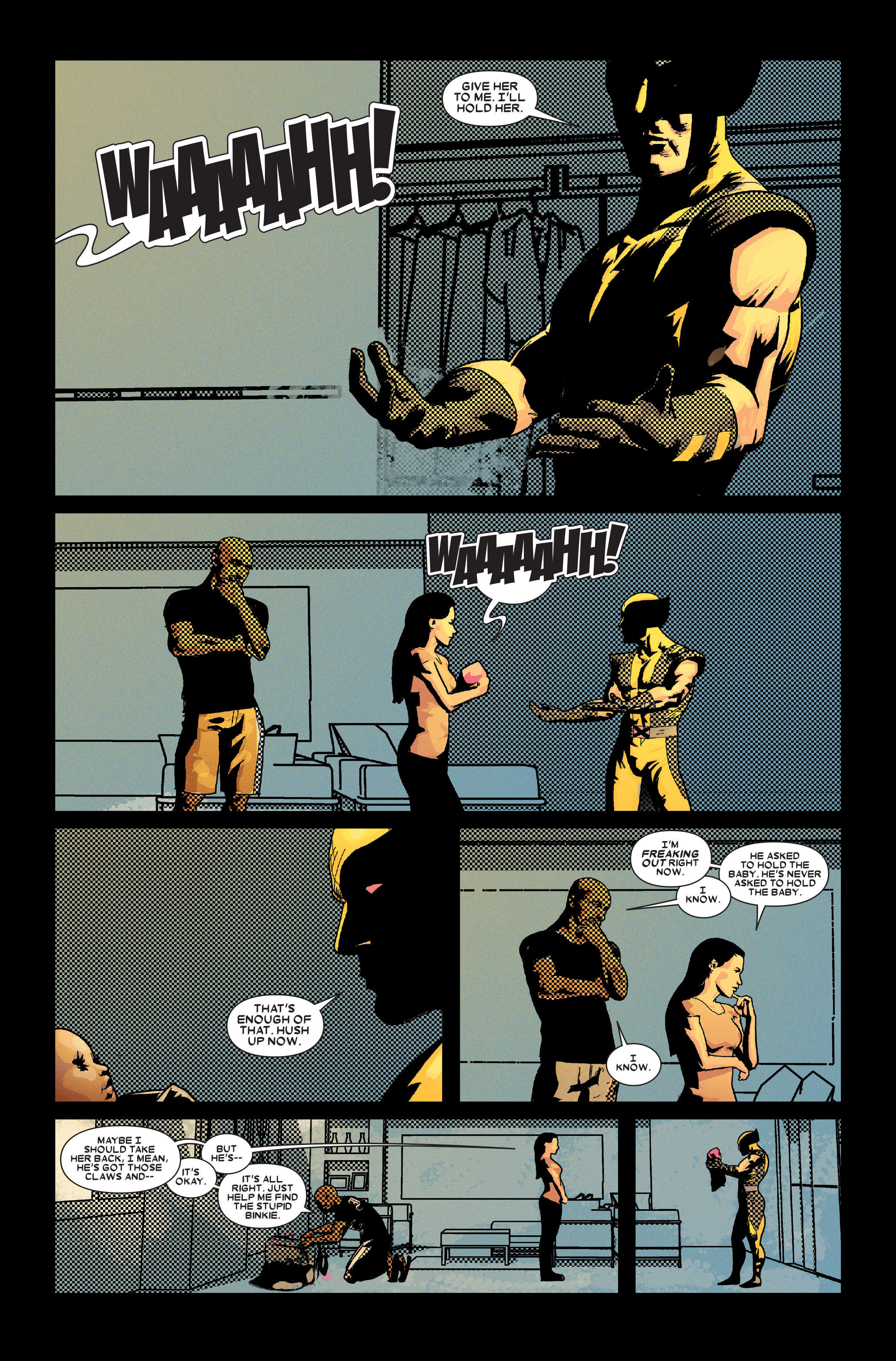 Read online Wolverine: Weapon X comic -  Issue #10 - 13