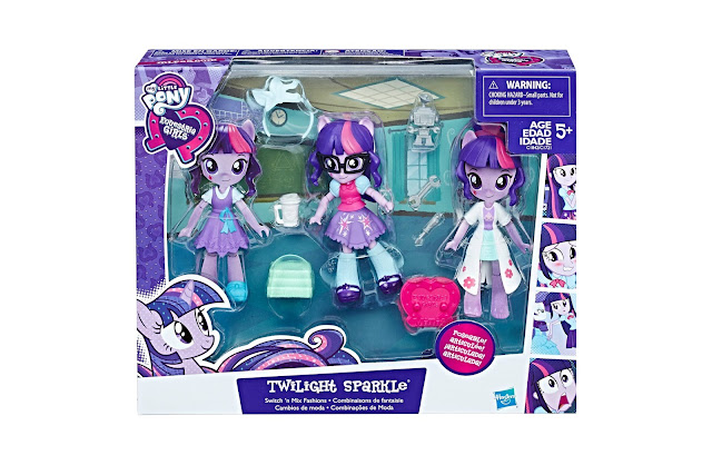 Twilight Sparkle Switch and mix Fashions Set