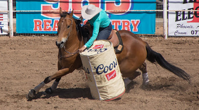 barrel racer in cave creek loses five points