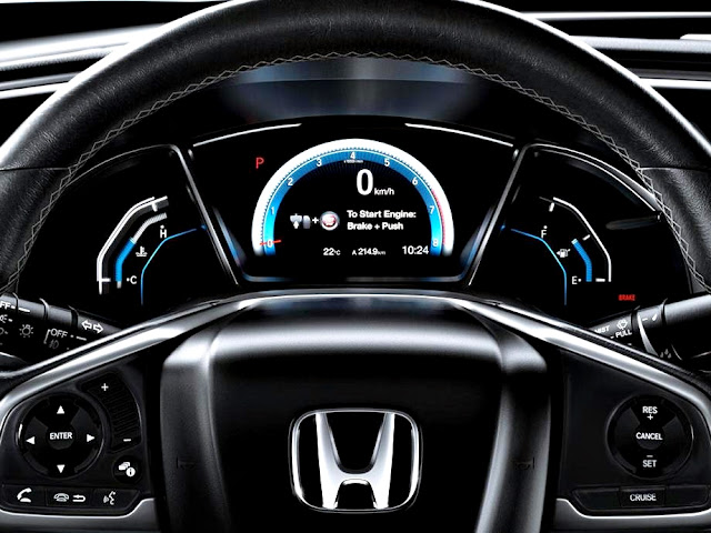 Honda Civic EXL-T interior