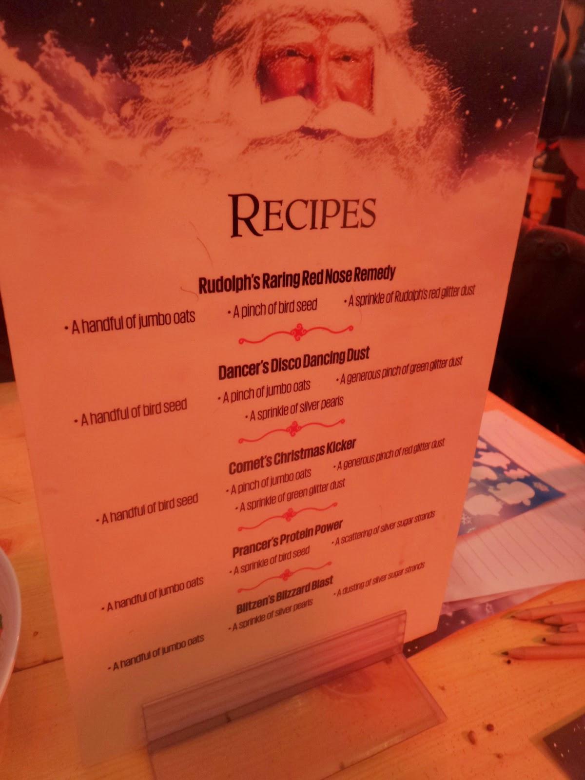 Reindeer Food Recipes